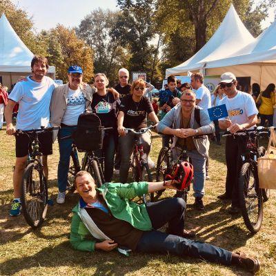Podrška Evropskoj nedelji sporta, nedelji klimatske diplomatije, festivalu BITEF teatra u septembru i Međunarodnom Green Festu u novembru